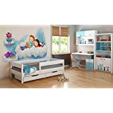 Single Beds For Kids Children Toddler Junior 140x70 160x80 180x80 180x90 200x90