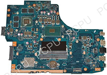 Amazon.com: 60NB0A40-MB1401 Asus GL752VW Laptop Motherboard ...
