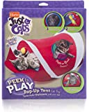 HARTZ Just For Cats Peek & Play Pop-Up Tent Cat Toy