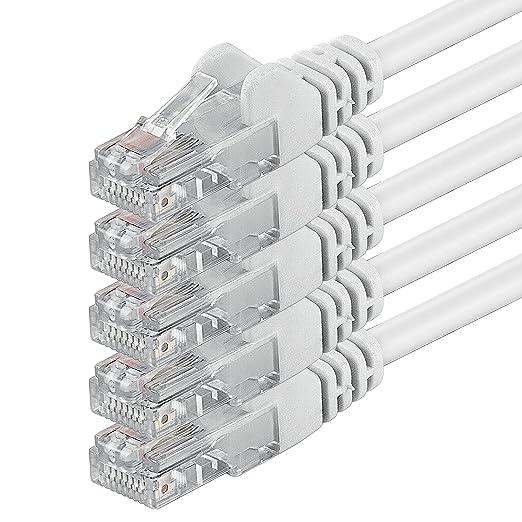 20 opinioni per 1aTTack 86835 2m Cat6 U/UTP (UTP) White networking cable- networking cables (2