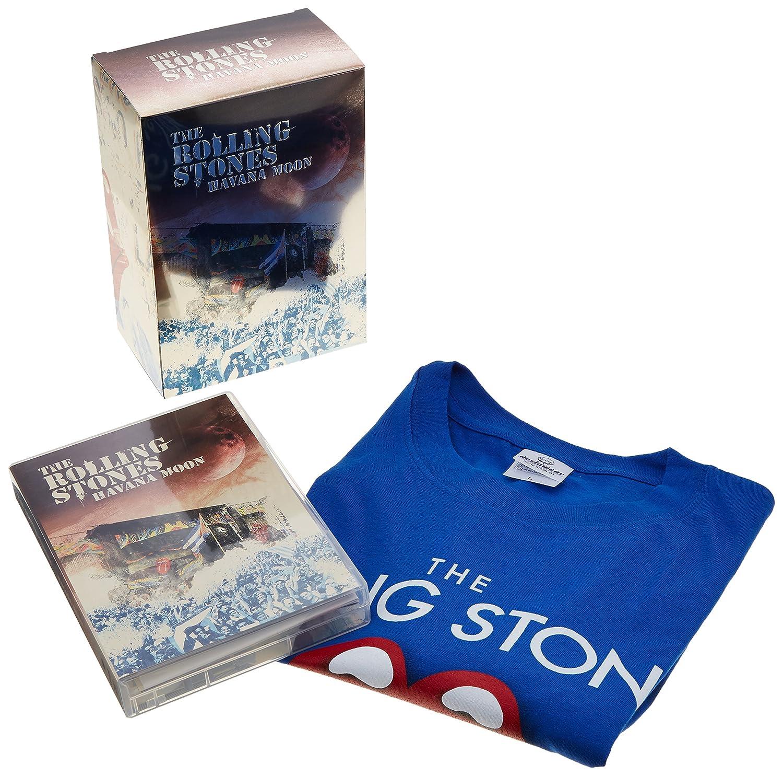 ローリング・ストーンズ / ハバナ・ムーン ストーンズ・ライヴ・イン・キューバ2016(完全生産限定DVD+2枚組CD+Tシャツ[Lサイズのみ])