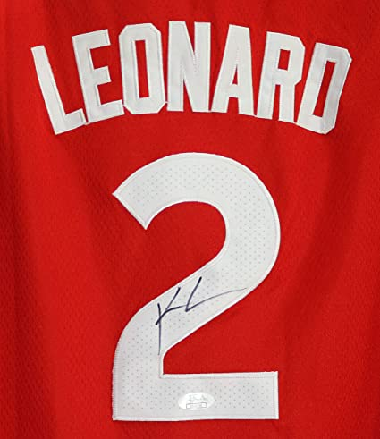 28630310968 Image Unavailable. Image not available for. Color: Kawhi Leonard Toronto Raptors  Signed Autographed ...