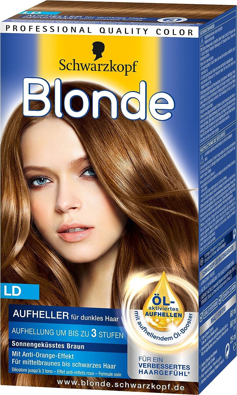 Blonde Ld Aufheller Für Dunkles Haar 3er Pack 3 X 142 Ml Amazon