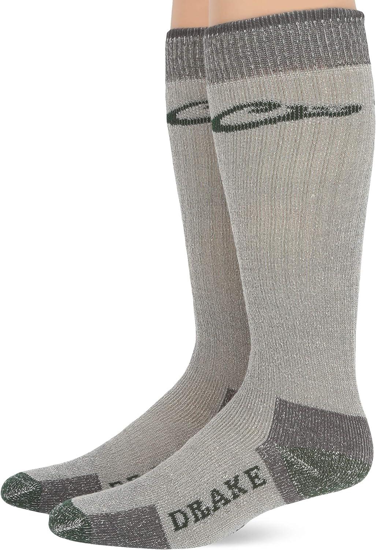 Drake Youth Boys Merino Wool Blend  Boot Socks 2 Pair Pack