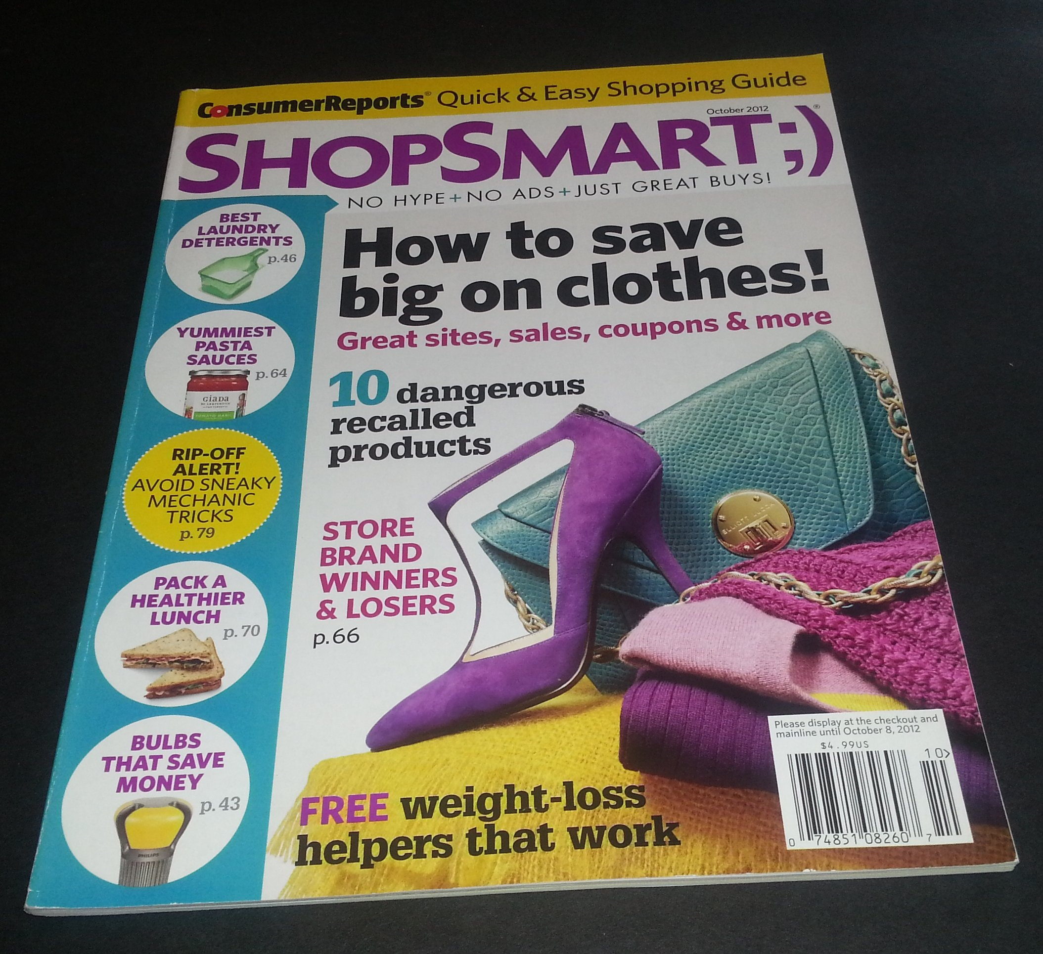 Download Shop Smart Magazine October 2012 (HOW TO SAVE BIG ON CLOTHES) ebook