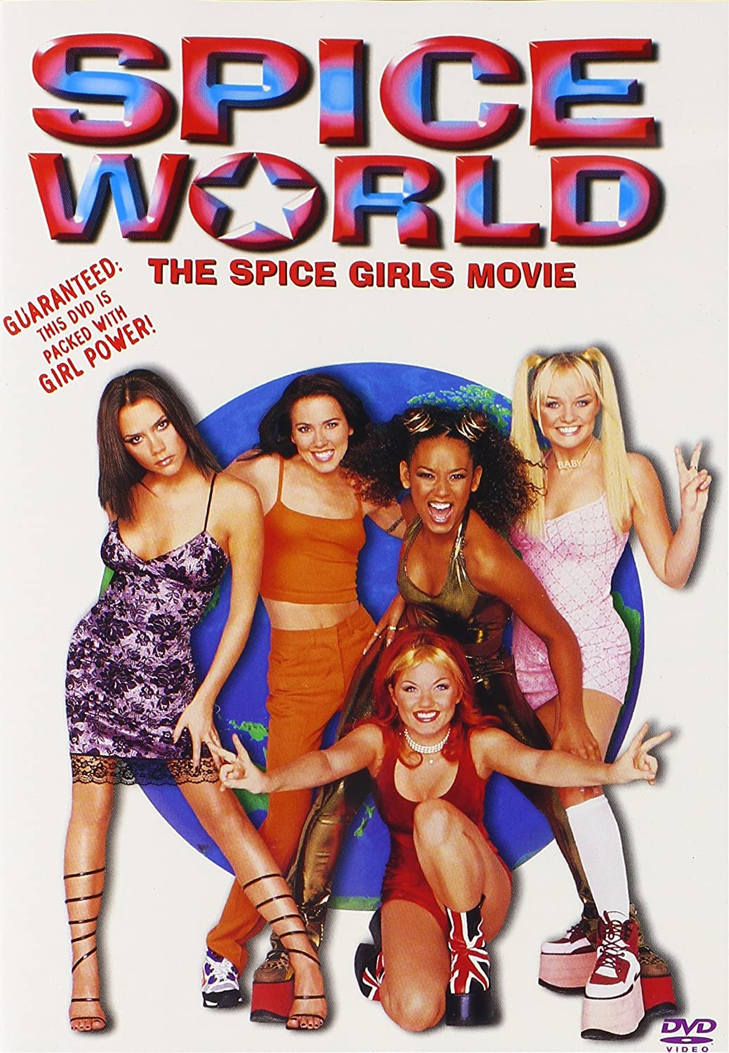"""Spice World"" movie poster, one of our favorite movies that explores female relationships!"