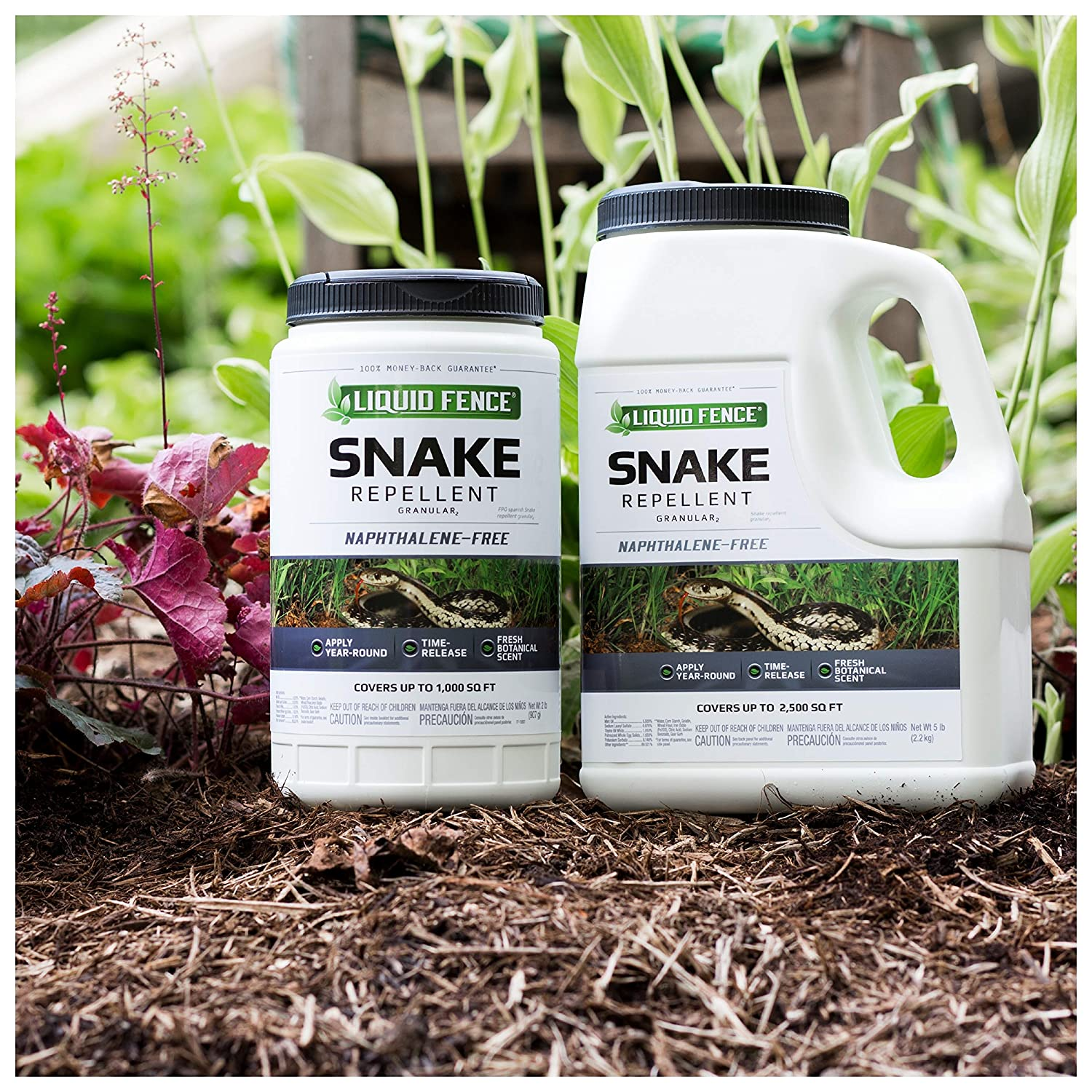 Amazon.com : Liquid Fence Snake Repellent Granular, 2-Pound, 6-Pack : Garden & Outdoor
