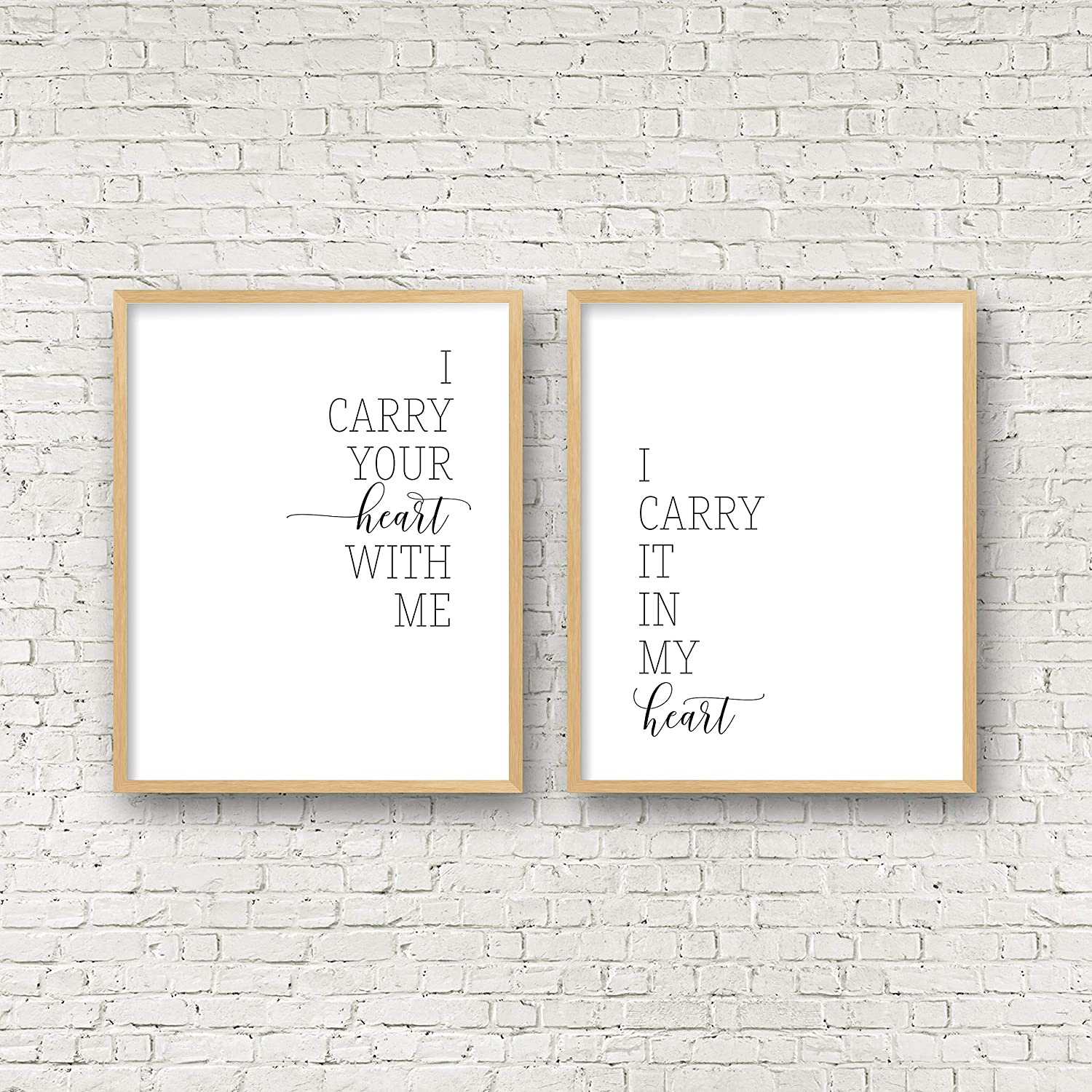 Amazoncom I Carry Your Heart With Me Print Ee Cummings