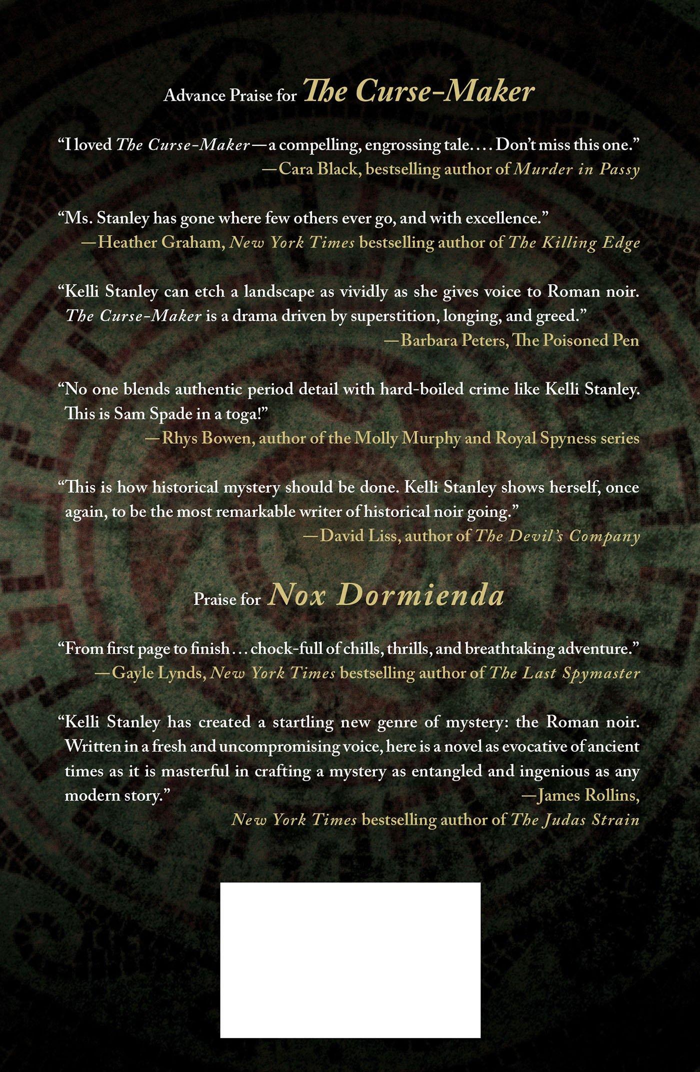 Amazon: The Cursemaker (arcturus) (9780312654191): Kelli Stanley: Books
