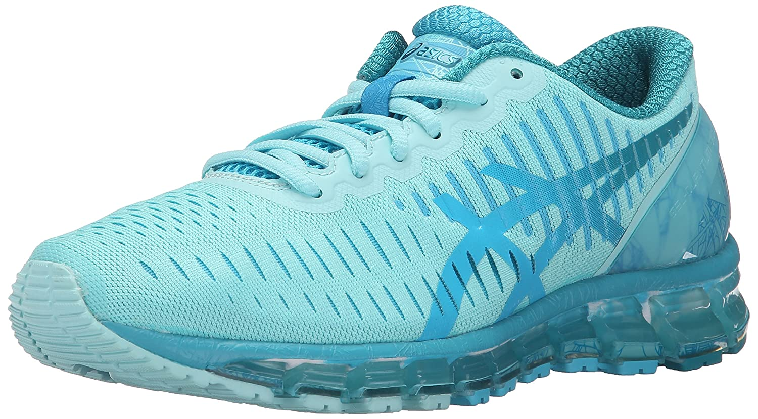 ASICS Women's Gel Quantum 360 Running Shoe B00ZAU7QXY 7 B(M) US|Aqua Splash/Turquoise/Tile Blue