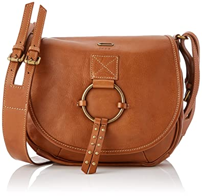 580687a94b6 IKKS femme The Waiter Folk Sac bandouliere Marron (Camel)  Amazon.fr ...