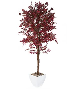Closer2nature Artificial 6ft 1 Purple Japanese Maple Tree