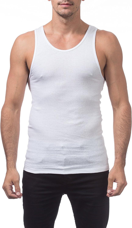 Pro Club Men's Premium Ringspun Cotton Ribbed A-Shirt