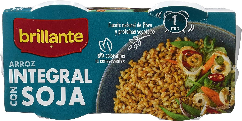 Arroz integral con Soja. 2 x 125 gr.: Amazon.es: Alimentación ...