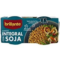 Arroz integral con Soja. 2 x 125 gr.