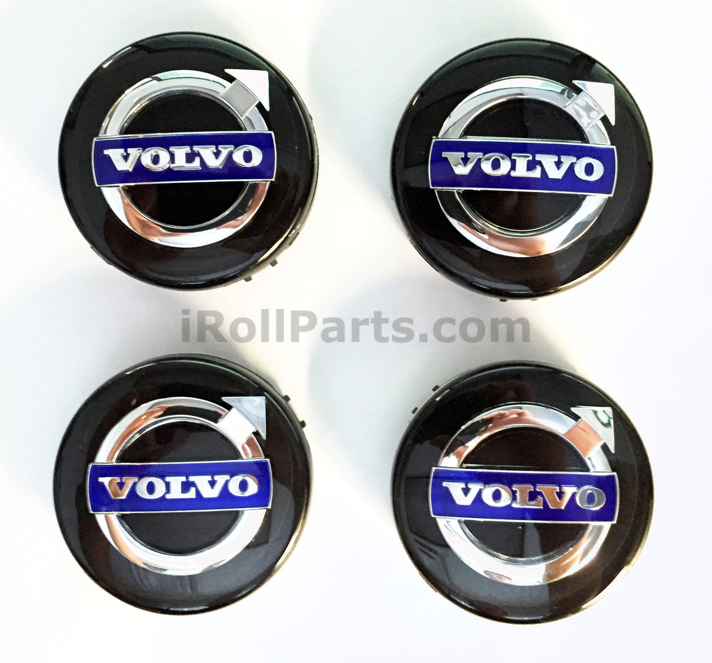 Genuine Volvo 30671515 Set of 4 Silver Wheel Hub Cap Kit