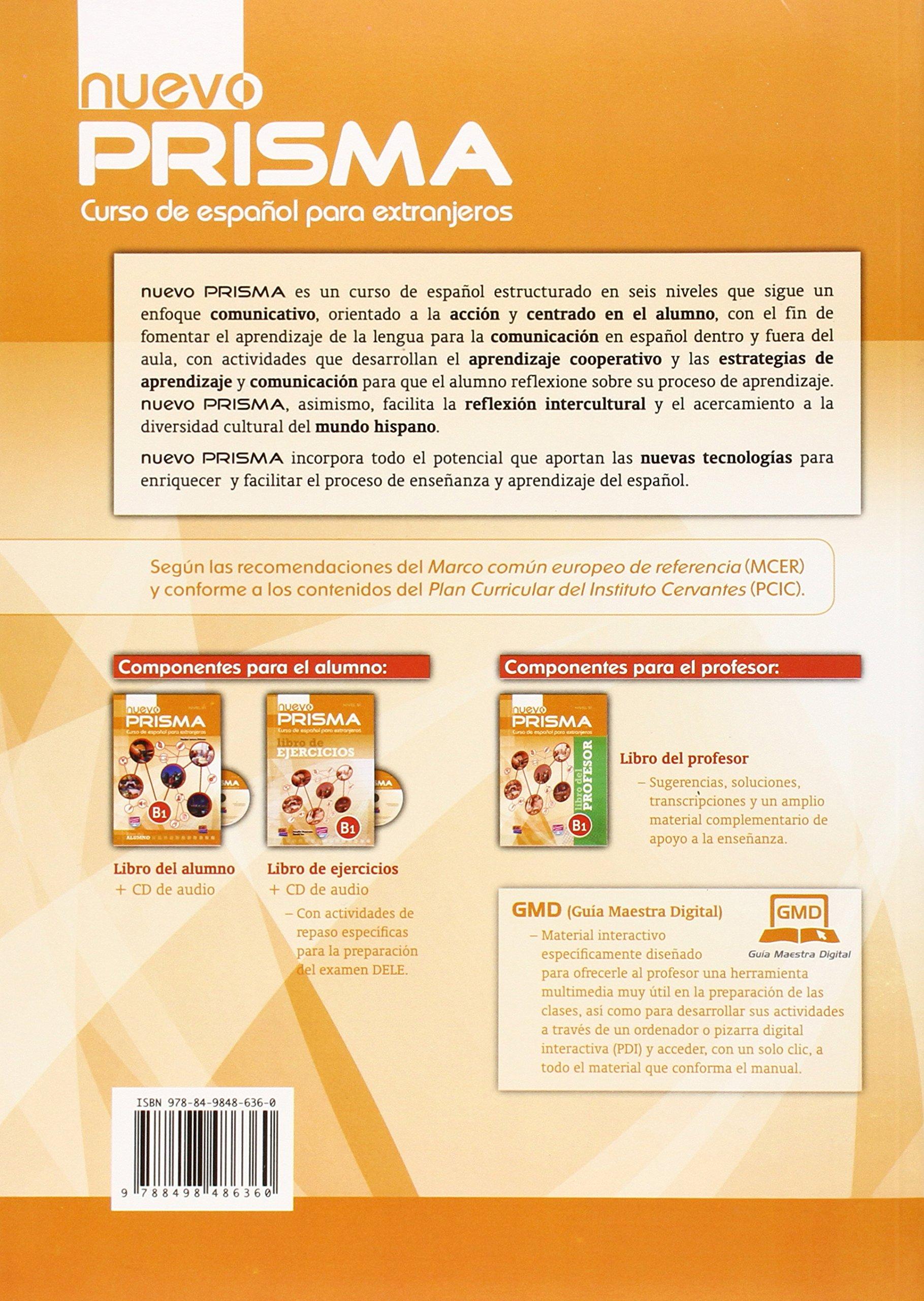 Nuevo Prisma B1 Students Book + Eleteca: Prisma Team Nuevo ...