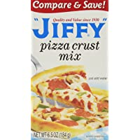 Jiffy Pizza Crust Mix, 6.5 oz, 6 pk