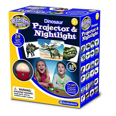 Brainstorm Toys E2046 Dinosaur Projector & Nightlight: Toys & Games