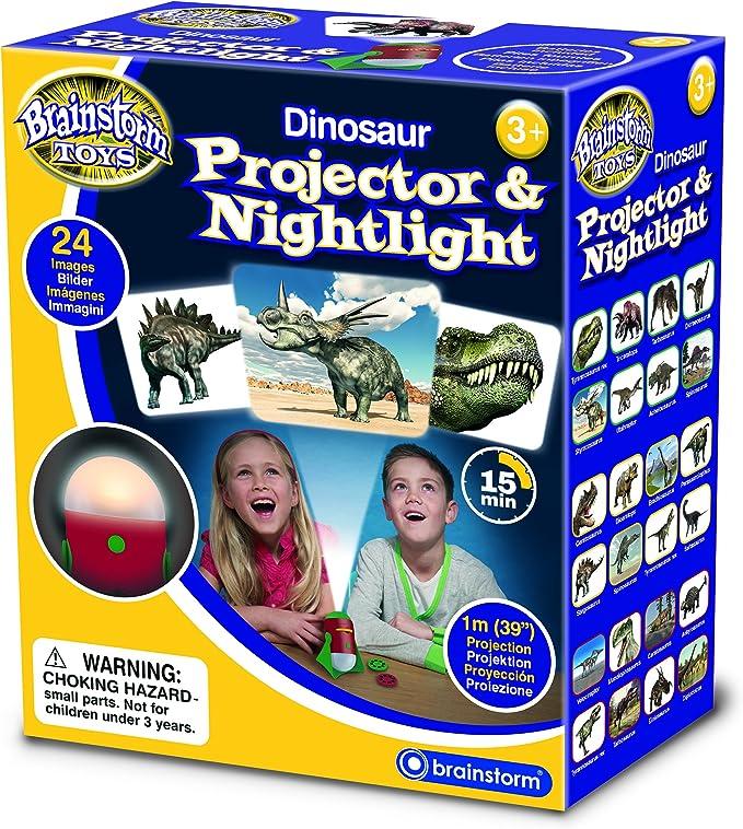 Brainstorm Toys-E2046 Proyector de Dinosaurios y luz Nocturna ...