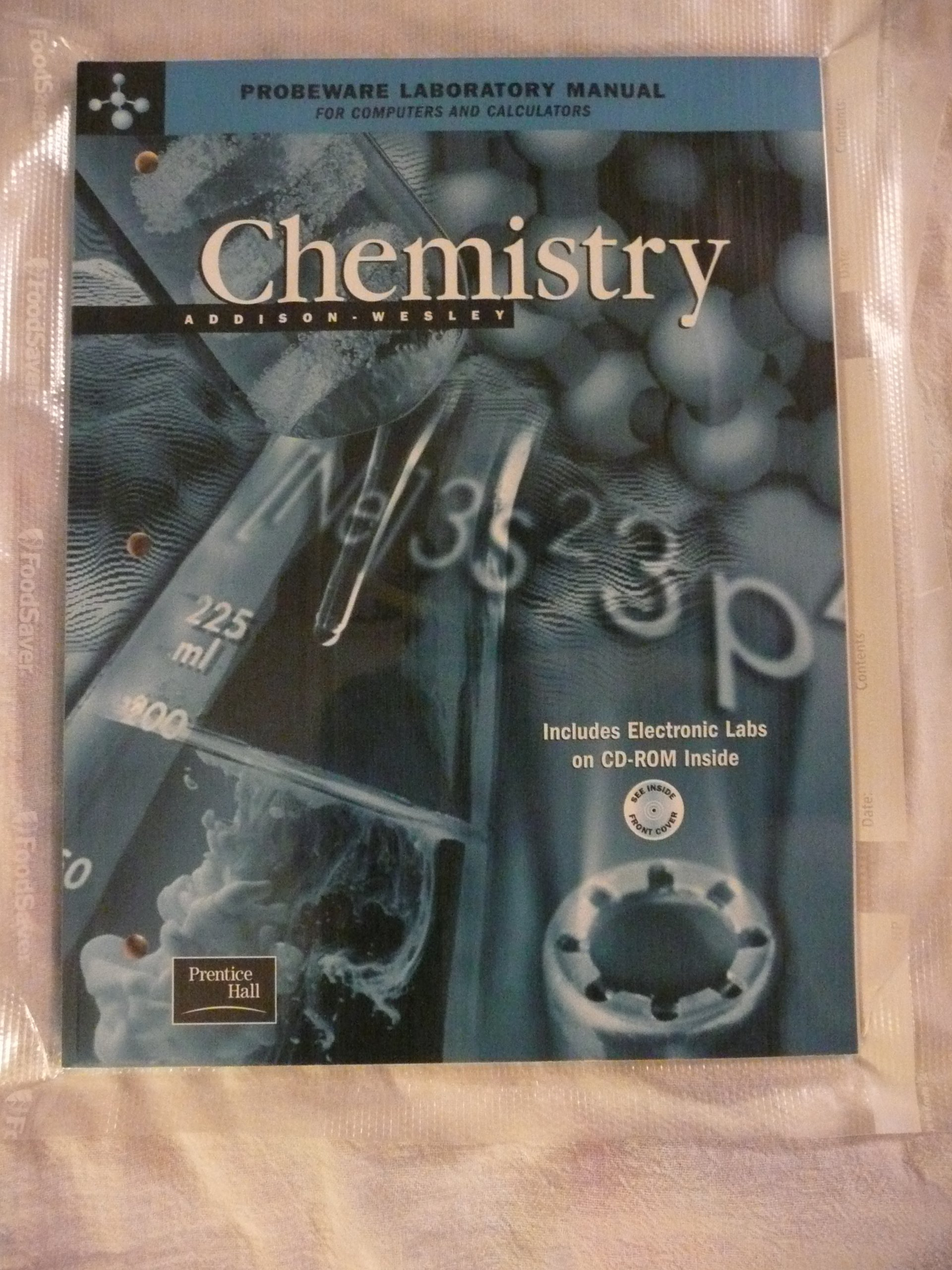 Addison Wesley Chemistry 5th Edition Probeware Lab Manual 2002c Paperback –  Feb 1 2001
