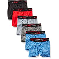Boys' Breathable Tagless Boxer Brief, 6-Pack