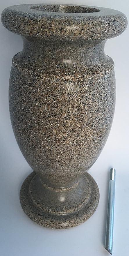 Amazon Optimum Memorial Cemetery Flower Vase Simulated