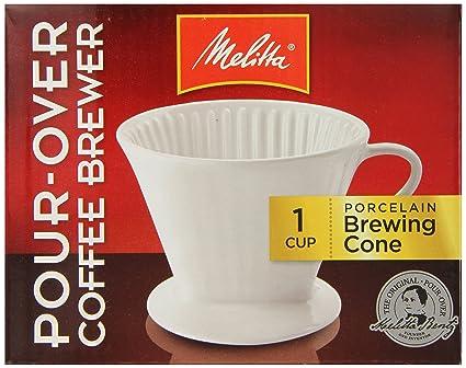 Amazon Melitta Porcelain 2 Cone Brewer Coffee