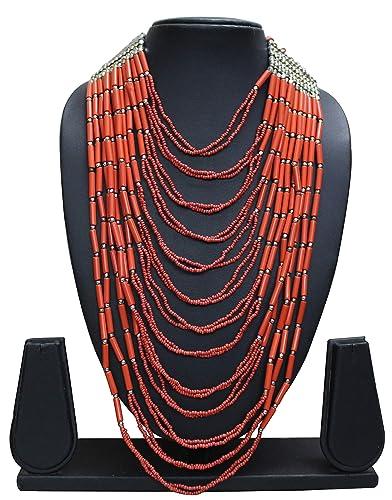 Buy Bhavika Fashion Opera Beaded Necklace Match Your Style ...