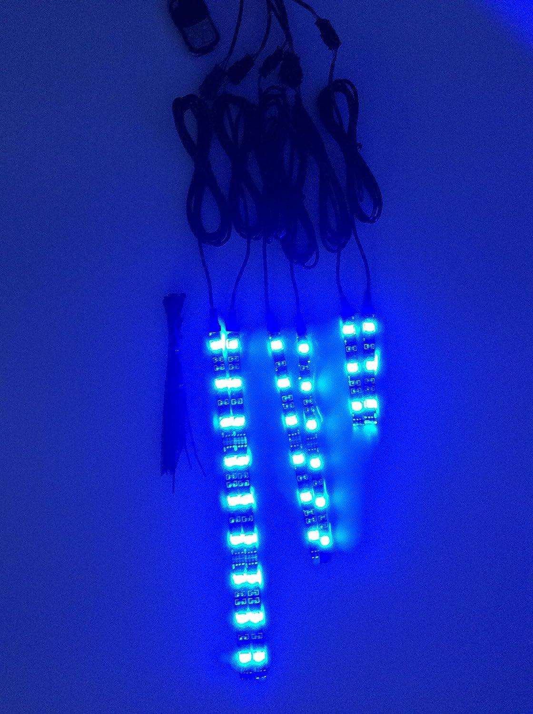 Kit bandes super lumineuses multicolore Accent LED pour moto
