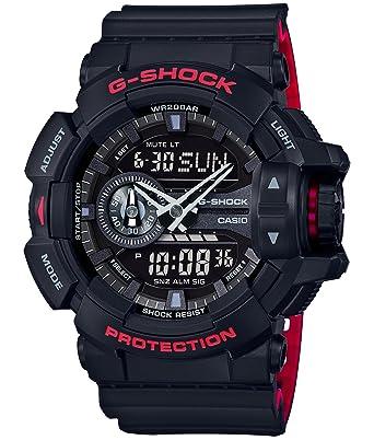 Casio G Shock Black Red Series Ga 400hr 1ajf Mens Japan Import