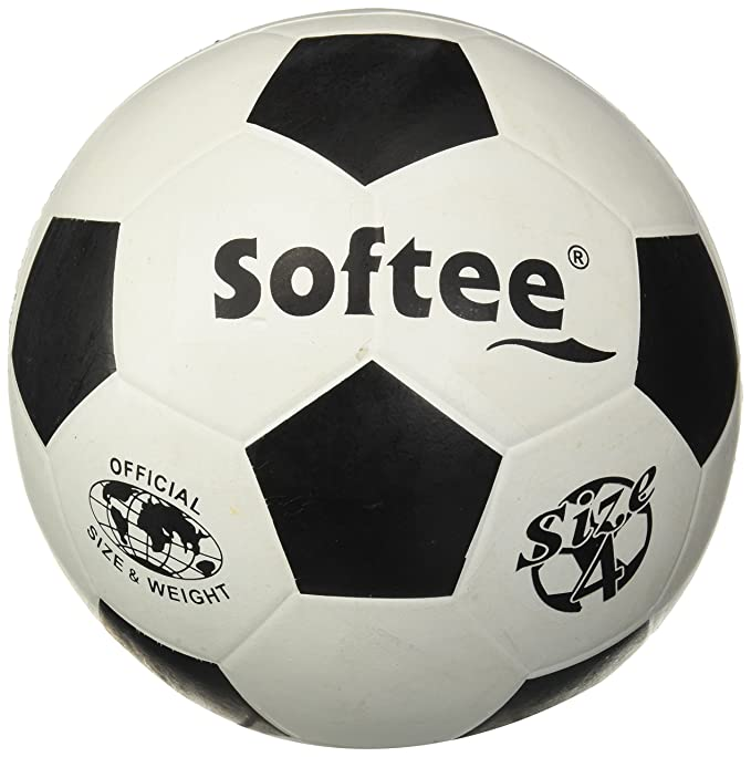Softee Equipment 0000508 Balón de Fútbol, Unisex, Blanco, S ...