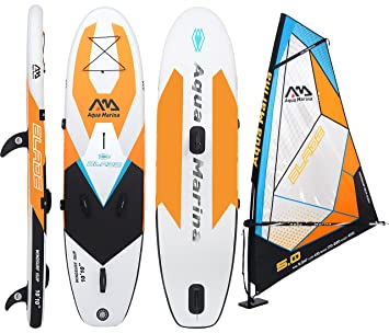 Aqua Marina Blade 11.0 Hinchable Windsurf ALL-AROUND sup: Amazon ...