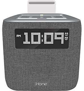 Amazon.com: iHome iBT232 Bluetooth Dual Alarm FM Clock Radio ...