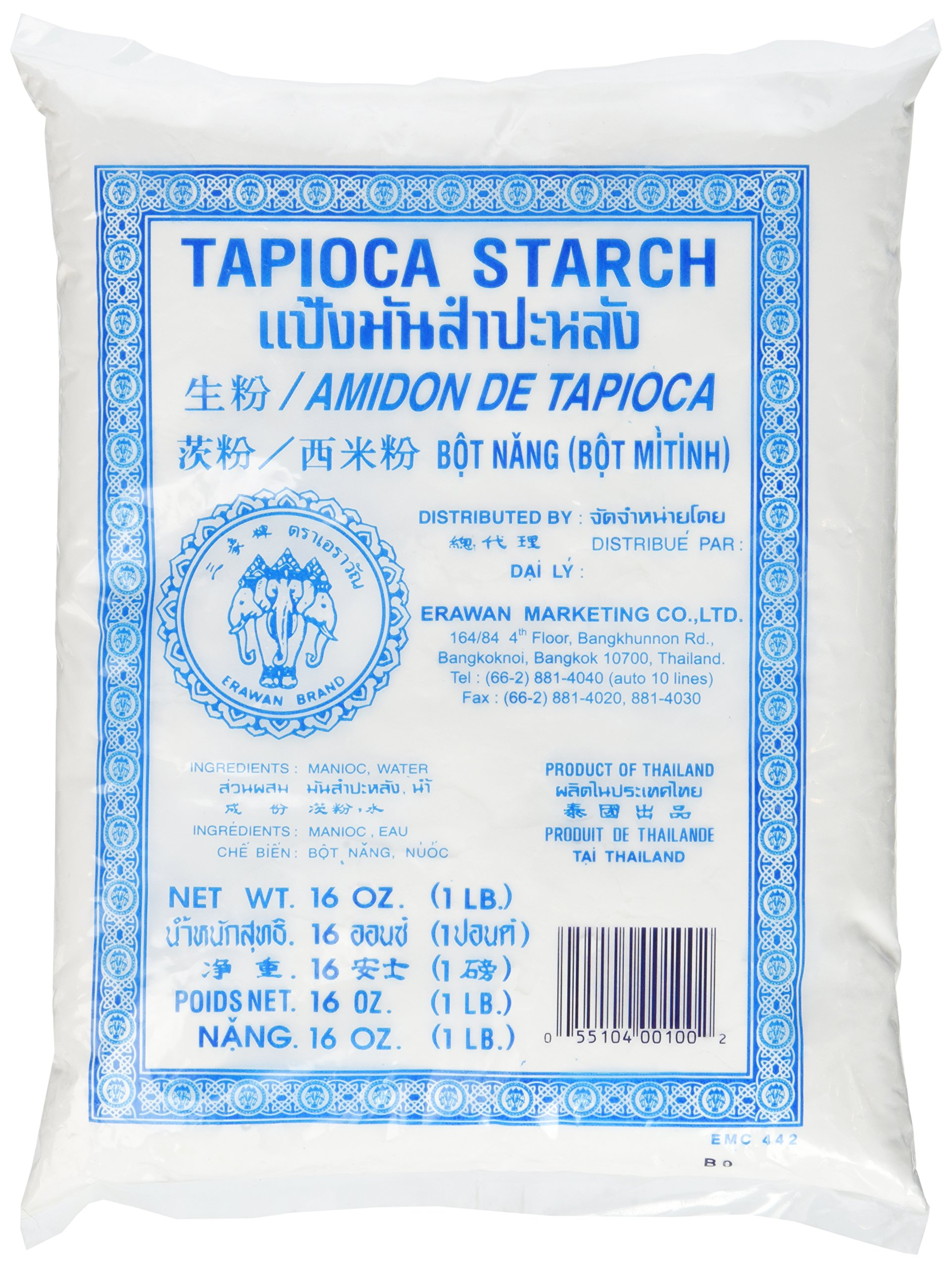 Tapioca Starch Powder 16 Oz (Pack of 1)