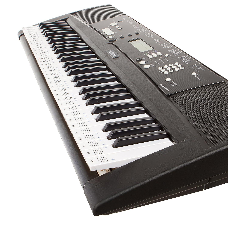 Pegatinas Keysies para notas musicales transparentes de pl stico
