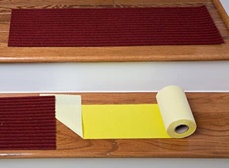 The Original Stair Tread Installation Kit By Stair Secure 6u0026quot; Extra  Wide Premium Double Sided