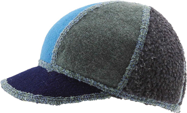 Icebox Knitting Xob Kids Soft Visor Winter Wool Blue/Green Hat Skull Cap Beanie for Girls and Boys : Skull Caps : Clothing