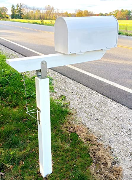 Amazon diy plow resistant mailbox post hardware kit stainless diy plow resistant mailbox post hardware kit stainless steel premium solutioingenieria Images