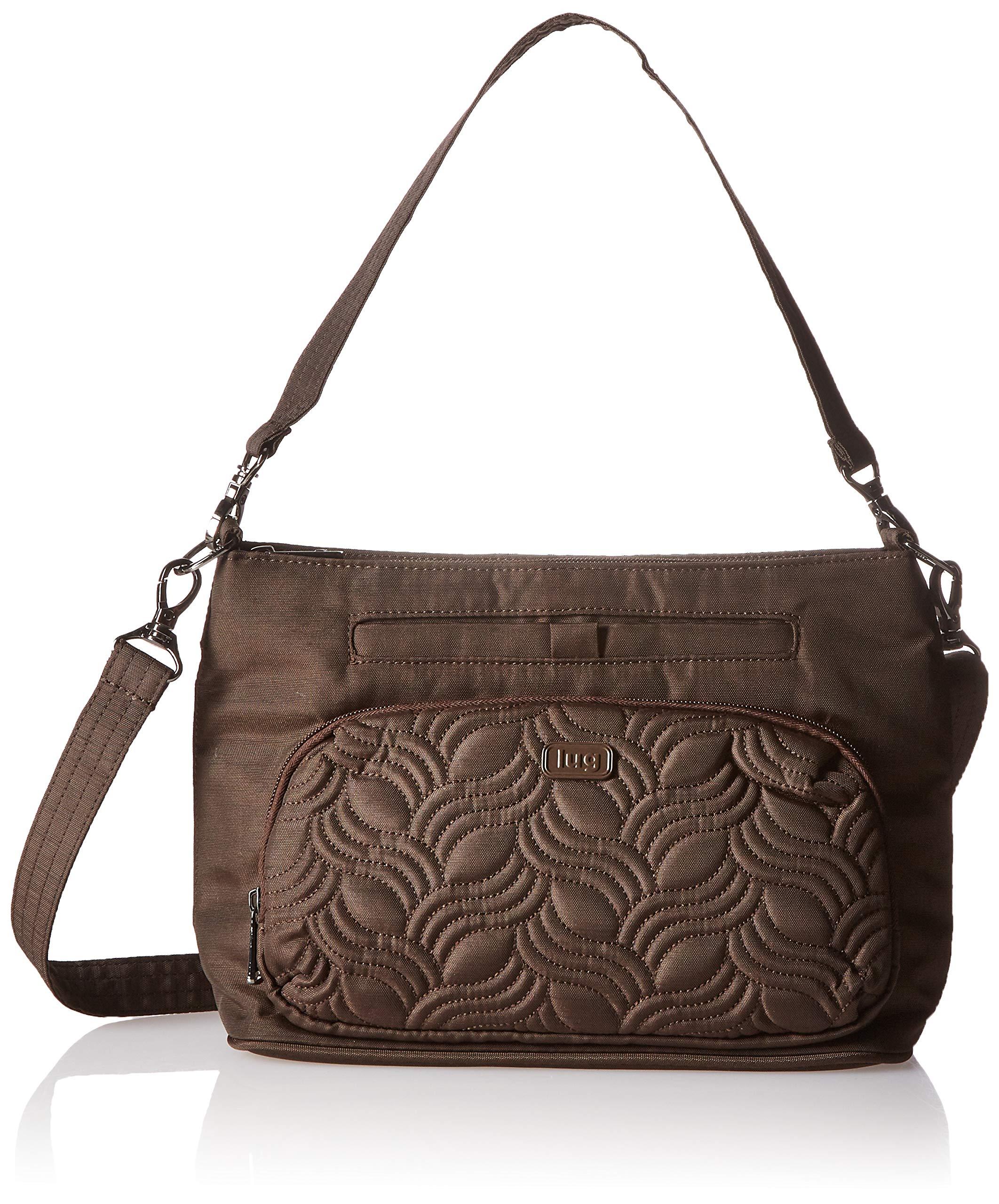 Lug Samba Crossbody Bag, Brushed Chocolate, Brown