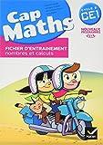 CAP MATHS CE1 Cycle 2 Edition 2016 - Fichier d'entraînement + Cahier de géométrie + Dico de maths