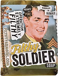 product image for Filthy Soldier all natural glycerin BAR SOAP Sandalwood Pine Rosemary Cedar