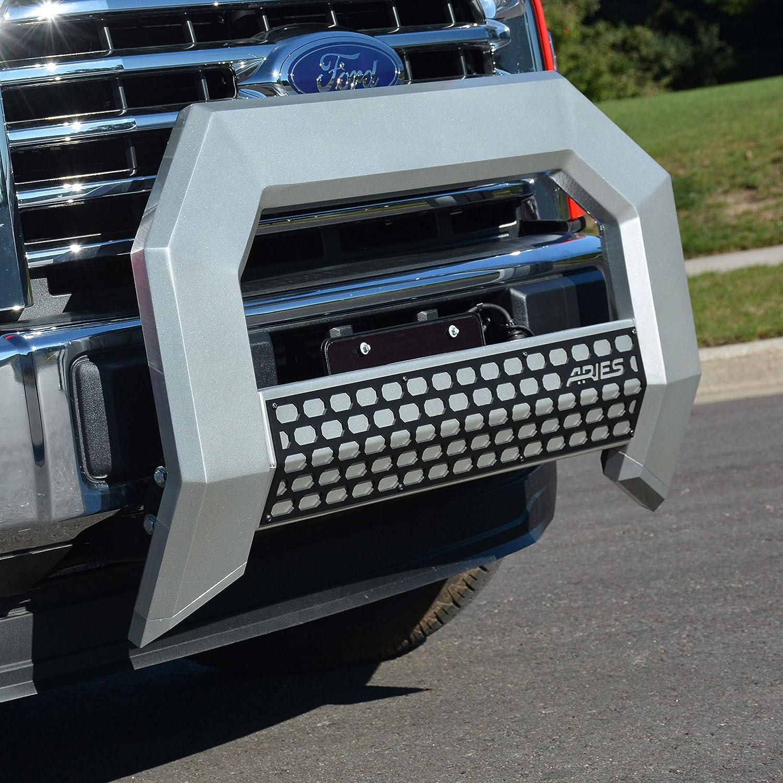ARIES 2153000 AdvantEDGE Chrome Aluminum Truck Bull Bar 5-1//2 for Select Ford F-150