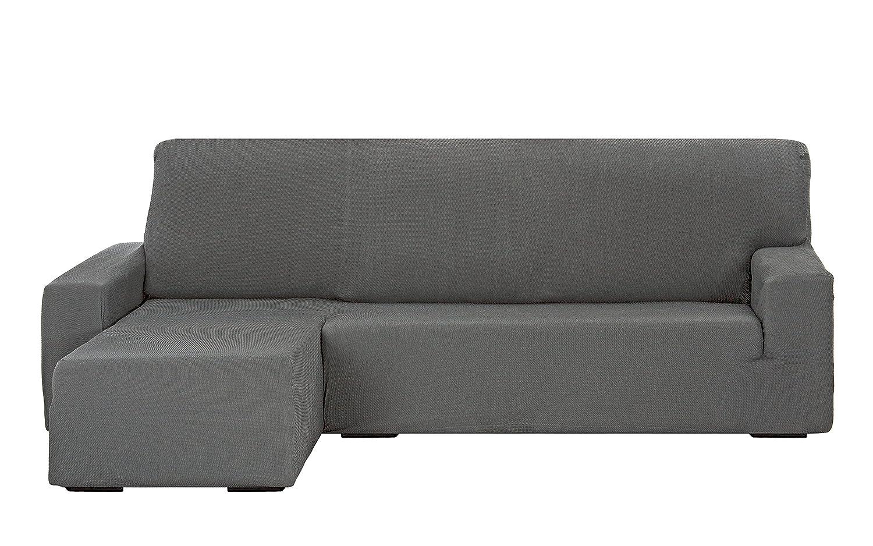 Martina Home Tunez Funda Sofá para Chaise Longue, Diseño Moderno, Tela, Gris, 32x17x42 cm