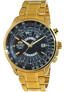 Orient Sports Automatic Multi-Year Calendar Gold Watch EU07001B