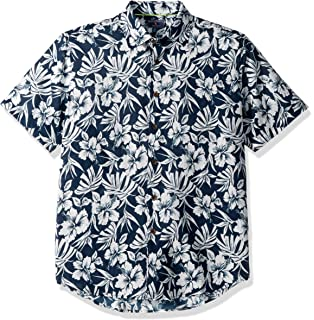 34269fa04d7d Rock Out Guitars Pacific Legend Apparel Hawaiian Aloha Shirt Navy at ...