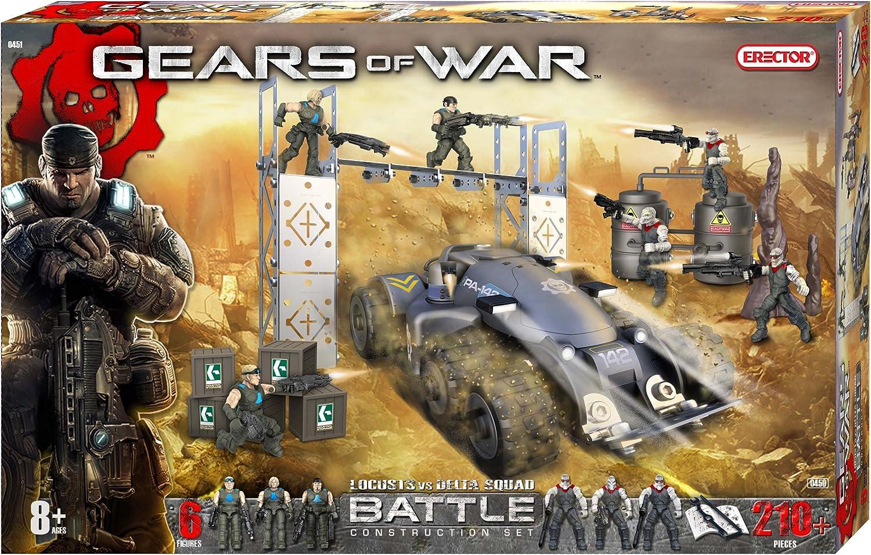 Erector Gears of War Locusts vs. Delta Squad Battle Construction ...