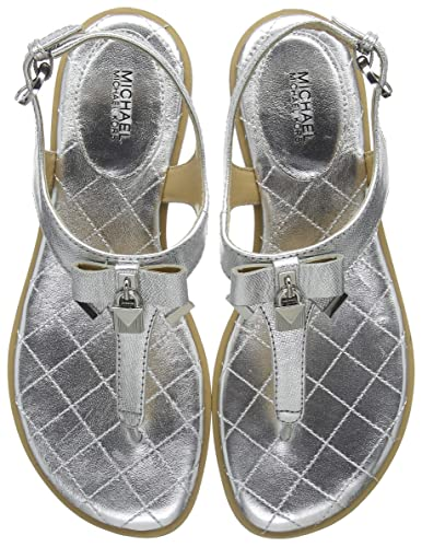 6b41cfa2f6f8f0 Michael Kors Alice, Chaussures de Mariage Femme, Gris (Silver 040), 36