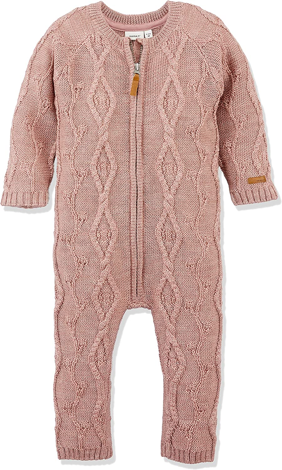 NAME IT Baby-M/ädchen Nmfwrilla Wool Ls Knit Suit Noos Spieler