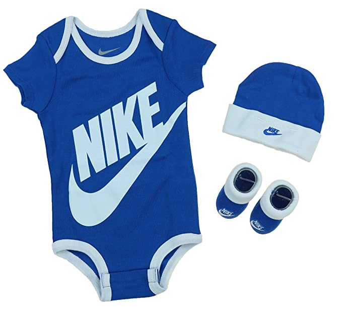 4ca2ded89 Image Unavailable. Image not available for. Colour: Nike Futura Logo Boys 3  Piece Infant Set ...